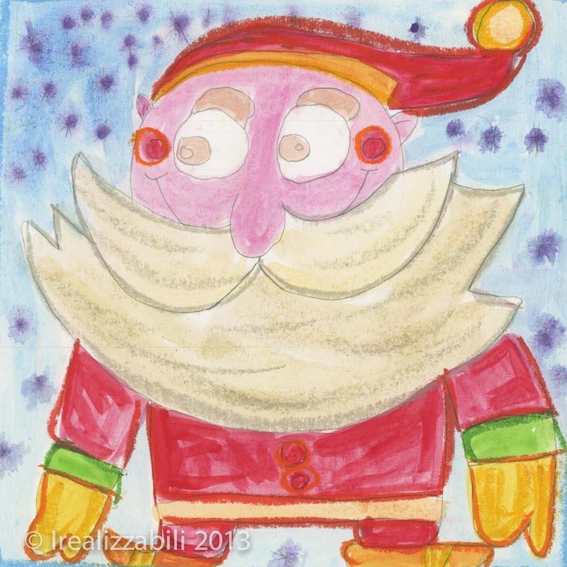 Babbo Natale di Damiano Elia Fioraso