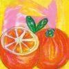 WallColor - Frutta, Arancia