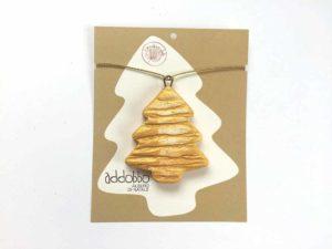 Albero natalizio dorato - addobbo con confezione