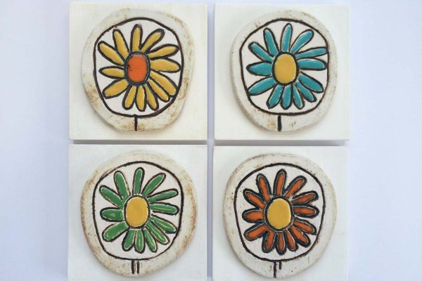 Mattonella margherita, diversi colori