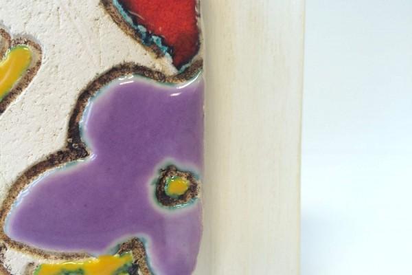 Mattonella su legno, dettaglio