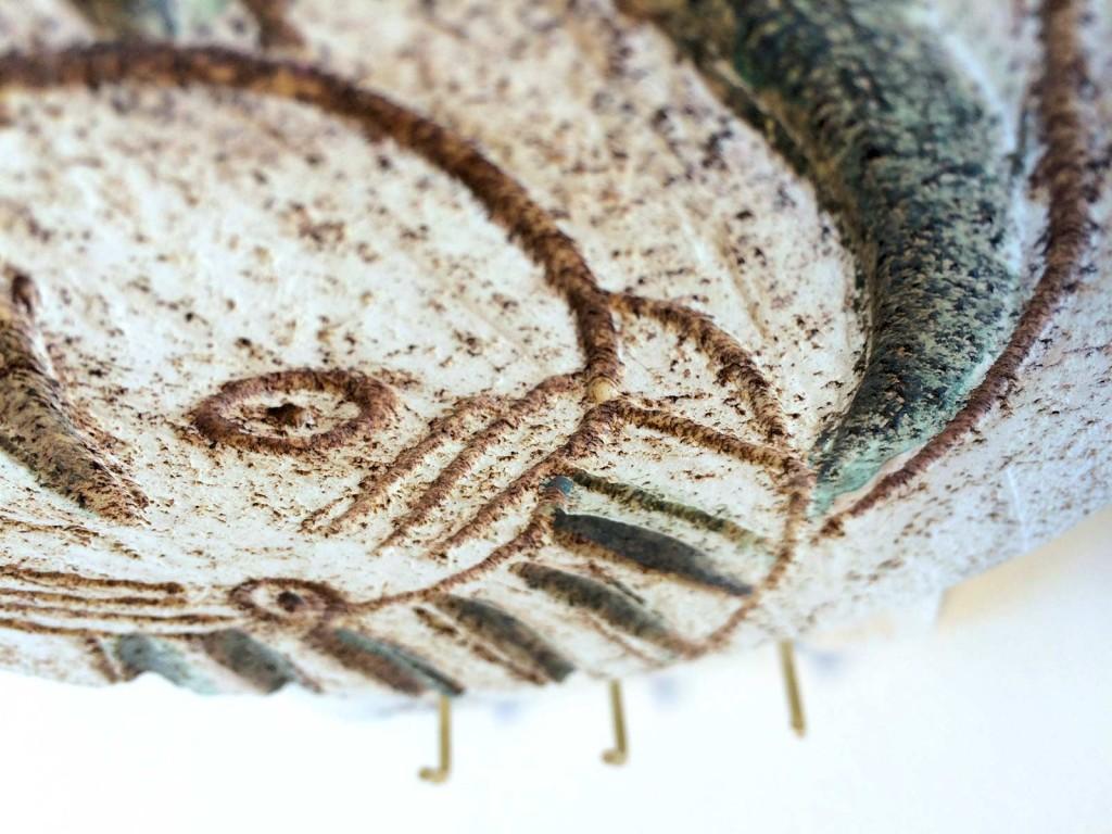 Dettaglio portapresine in ceramica 2