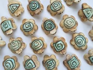 Tartarughe in ceramica. Piccola dimensione